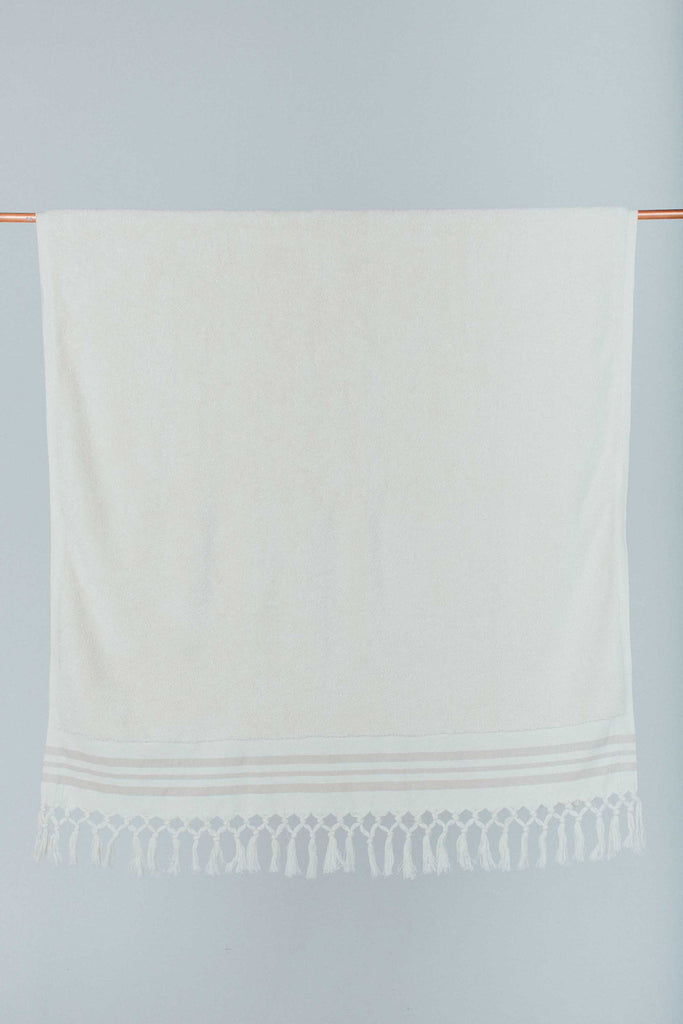 Ecru Classic Cotton Bath Sheet