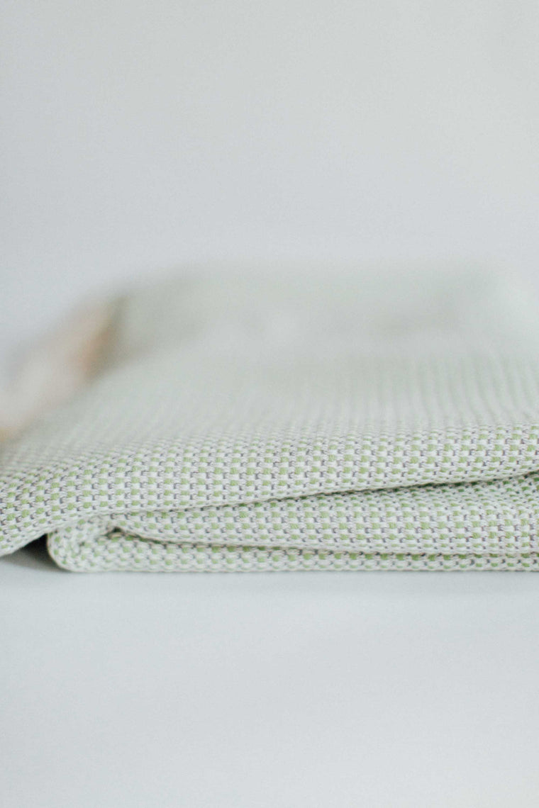 The Seaforth Blanket in Green and Grey