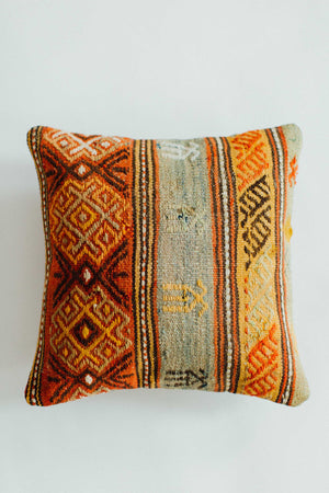 Vintage Turkish Pillow no. 009
