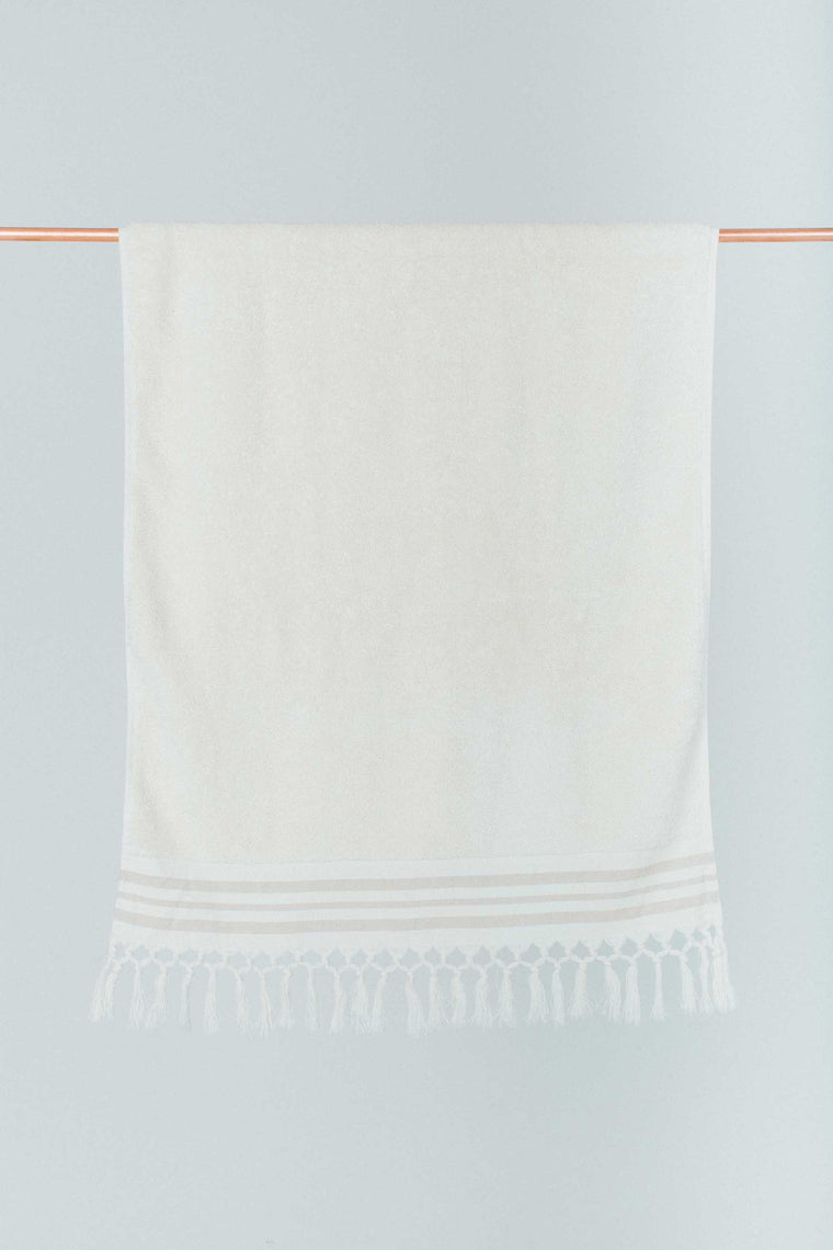 Ecru Bath Towel