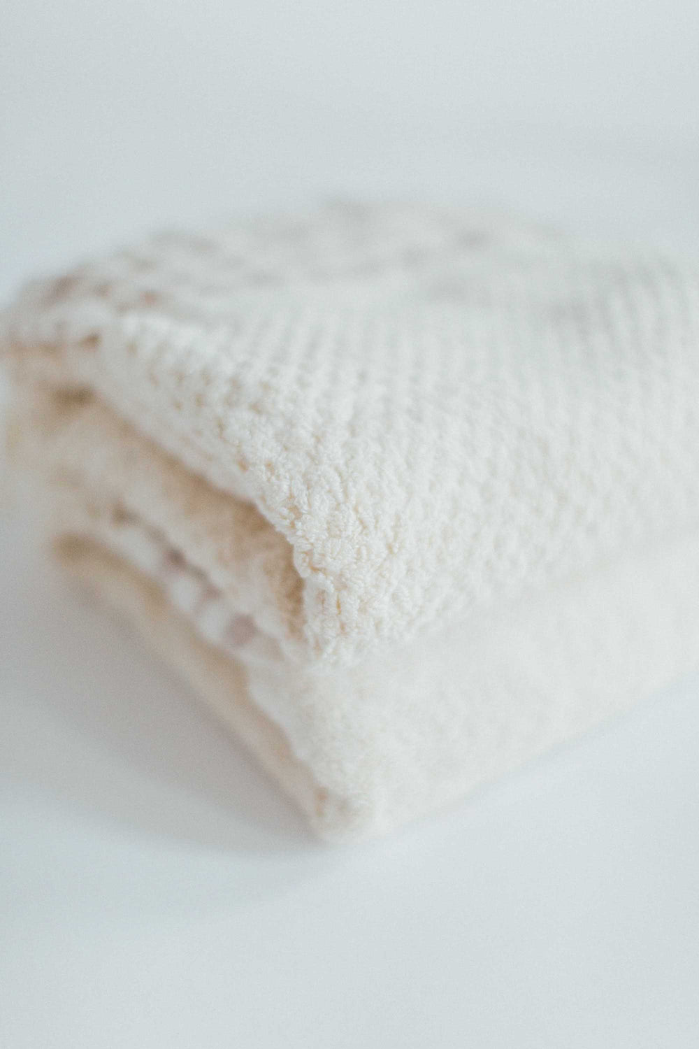 Ecru Classic And Honeycomb Cotton Bath Sheet