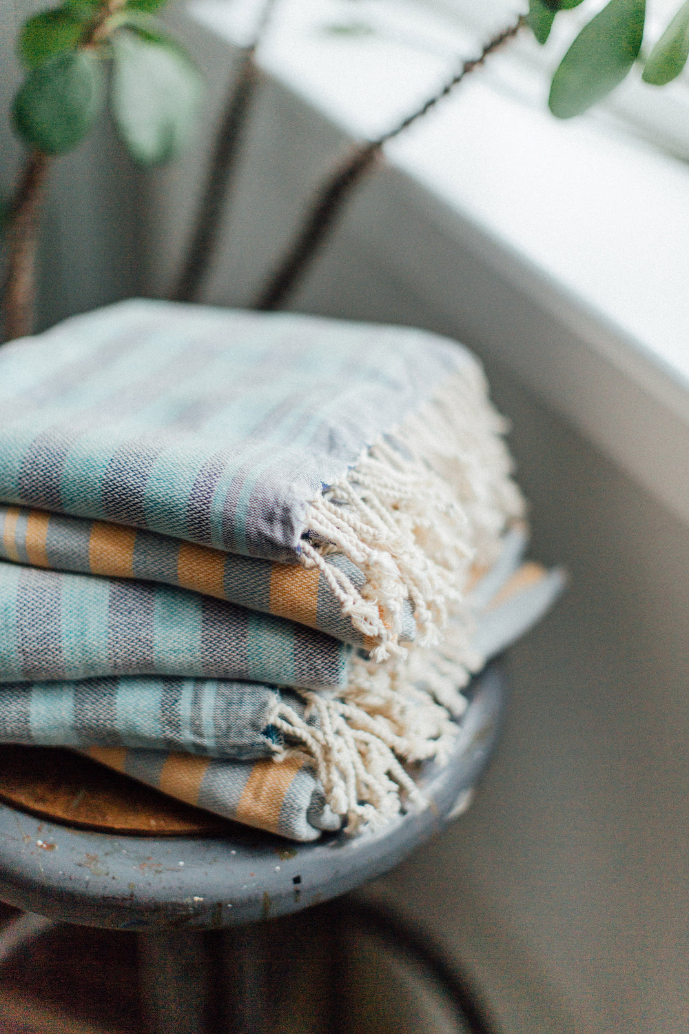 Two-Toned Breeze Towel
