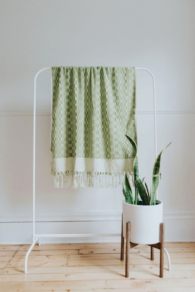 Brilliant Green Oversized Bath Towel