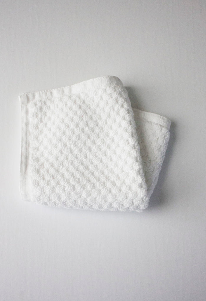 White Facecloth