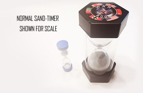 WAR ROOM: Giant 10 Minute Sand-Timer
