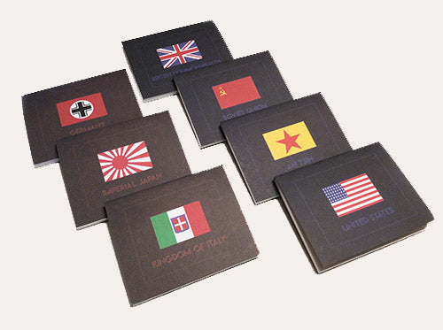 WAR ROOM: O&P Chart Pad Set of 7 Nations (Core set replacement)
