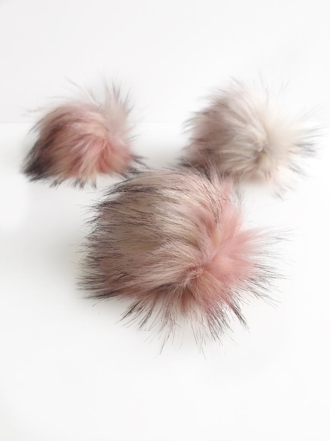 Pink Crush Faux Fur Poms