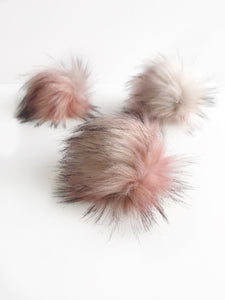 Pink Crush Precut Faux Fur