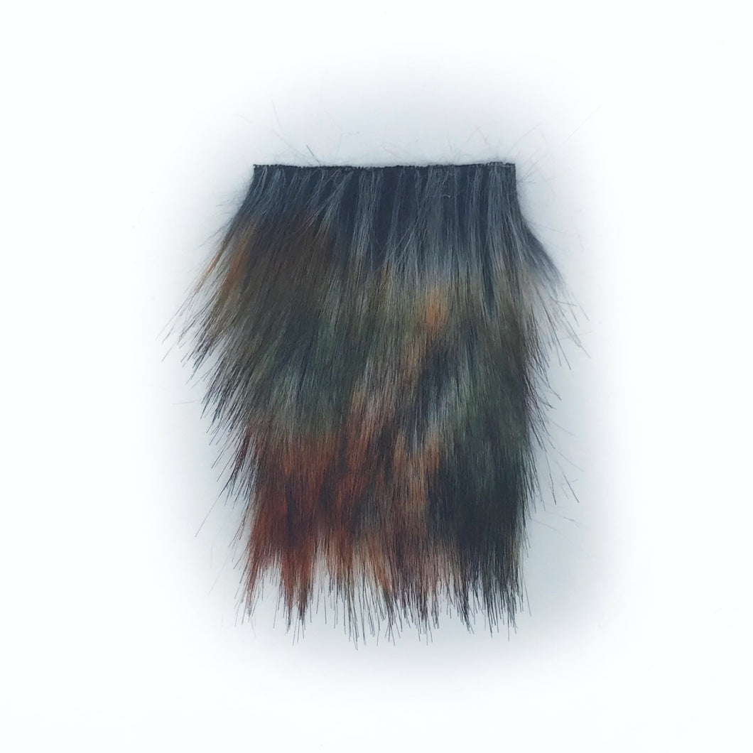 Autumn Horizon Precut Faux Fur