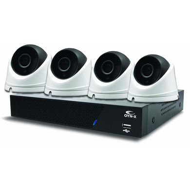 OYN-X 1080N 8 Channel 4 x 1080p HD indoor/outdoor Cameras 1TB CCTV KIT