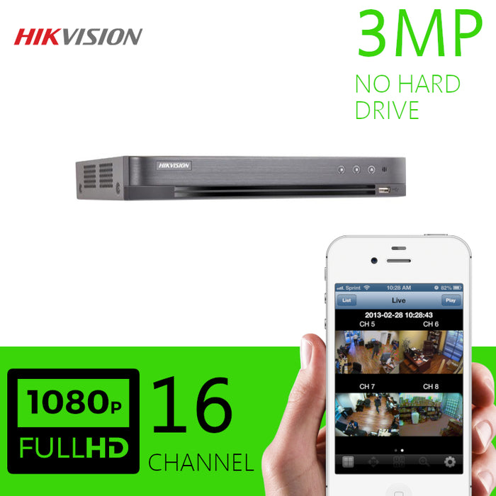 Hikvision 3MP 16 Channel DVR