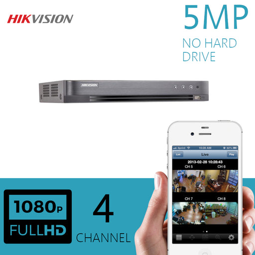 Hikvision 5MP 4 Channel DVR