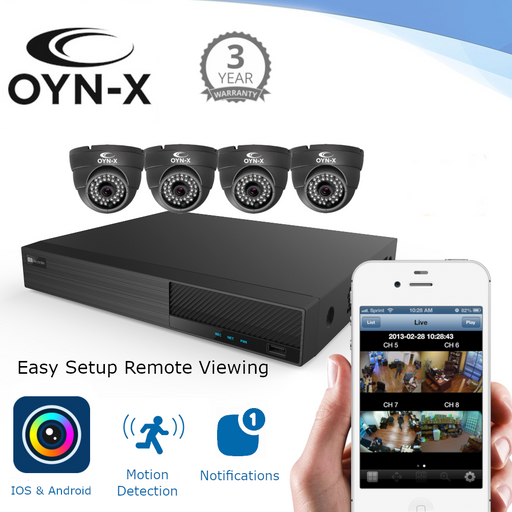 2MP CCTV KIT BUILDER - Build your own CCTV System for home or business