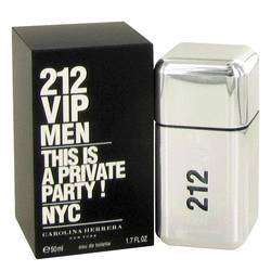 212 Vip Men Eau De Toilette Spray By Carolina Herrera