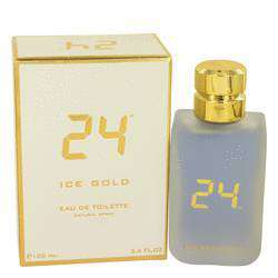 24 Ice Gold Men Eau De Toilette Spray -  By ScentStory