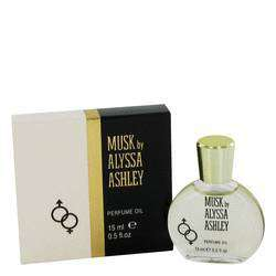 Alyssa Ashley Musk Perfumed Oil for Women - By Houbigant