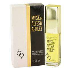 Alyssa Ashley Musk Eau De Toilette Spray for Women - By Houbigant
