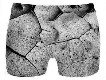 Abstract Cracks Underwear Free Shipping