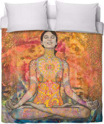 Aga Meditation Duvet Cover - Free Shipping - Covers