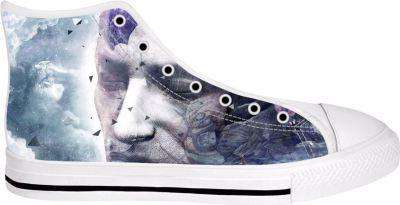 All We Have Is Now High Tops Shoes - Free Shipping - Hightop Whitesole