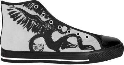 Anjel Sun Shoes - Free Shopping - Hightop Blacksole