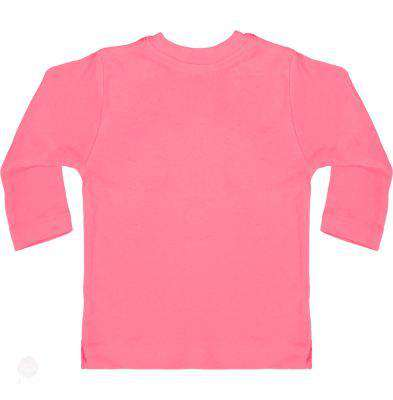 Baby T-Shirt With Press-Studs Long Sleeve - Free Shipping - Bubblegum Pink / 3-6 Mois - Child & Baby>T-Shirts
