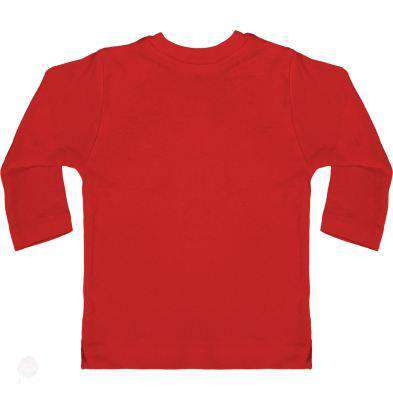 Baby T-Shirt With Press-Studs Long Sleeve - Free Shipping - Red / 3-6 Mois - Child & Baby>T-Shirts