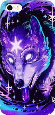 Black Hole Wolf Phone Case - Free Shipping - Iphone Cases