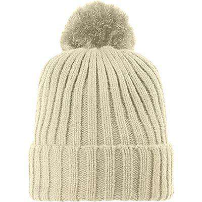 Bobble Hat Arosa Beanie - Free Shipping - Off White / Tu - Accessories & Hats>Beanies