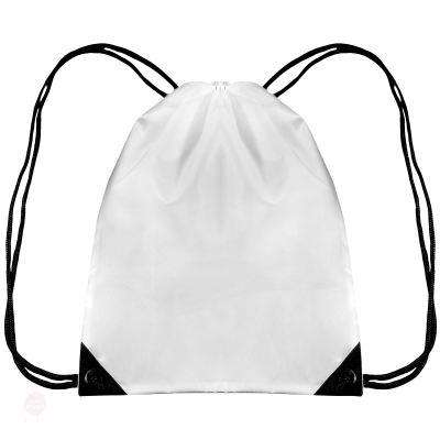 Drawstring Backpack Bag - Free Shipping - White / 44 X 34 Cm - Accessories & Hats>Bags