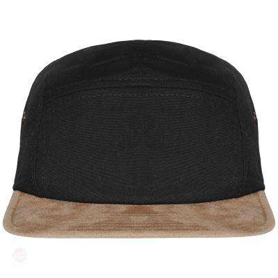 Panel Cap Suede - Free Shipping - Black / Tu - Accessories & Hats>Caps