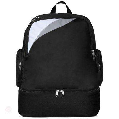Sports Bag With Rigid Back - Free Shipping - Black / White / Light Grey / Tu - Accessories & Hats>Bags