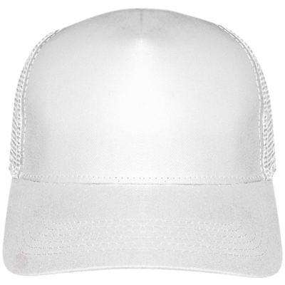 Trucker Cap Panel Kup - Free Shipping - White / Tu - Accessories & Hats>Caps