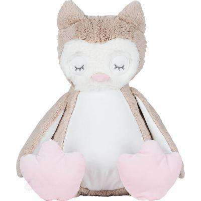 Zipped Plush Owl Kids - Free Shipping - Light Brown / L - Child & Baby>Soft Toy