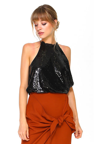 Holiday Sequin Tank