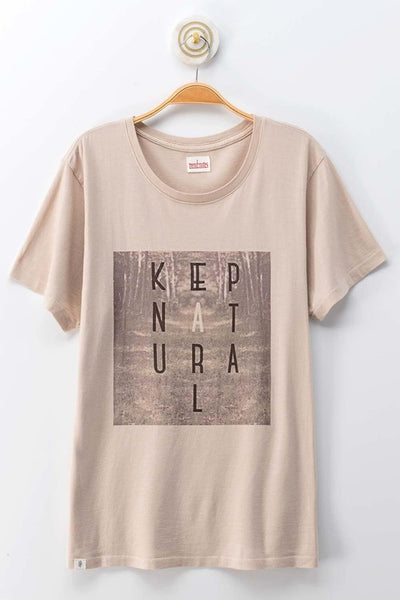 Keep Natural Graphic Tee