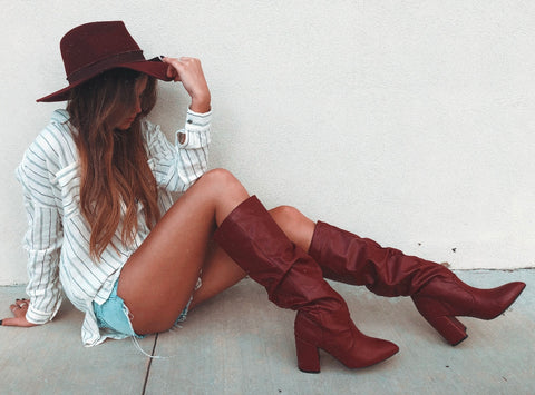 Red Hot Boots