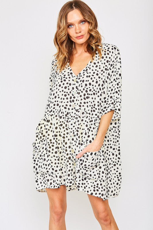 Dot Tunic Dress