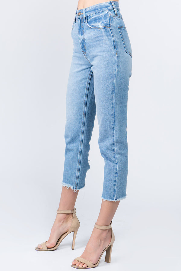 Mckenna High Rise Crop Jean