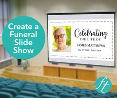Classic Funeral Slide Show Template