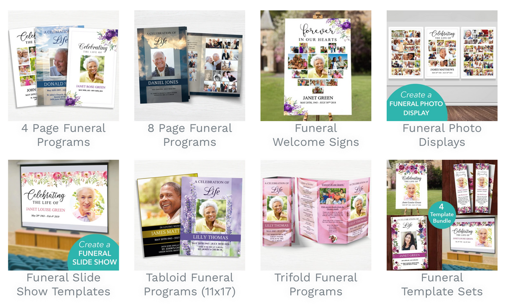 Funeral Template Collections