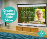 Woodland Funeral Slide Show Template
