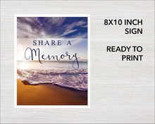 Waves Share a Memory Sign and Cards