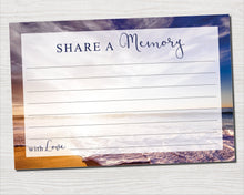 Memorial share a memory cards for men