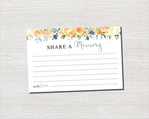 Share a memory card with yellow rose