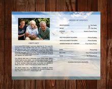 4 page obituary template for men