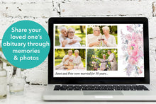 Make a funeral slideshow of your loved ones special memories