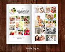 8 Page Loving Memory Funeral Program Template