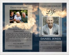 8 page funeral program template