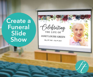 Autumnal Funeral Slide Show Template